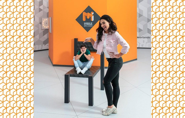 Museum of Illusions Orlando Beuchet Chair Illusion