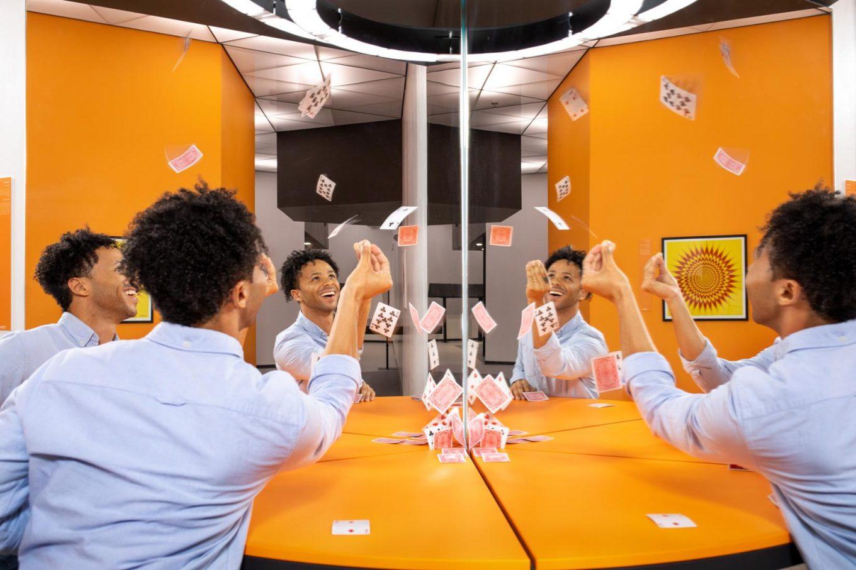 Museum of Illusions Orlando Clone Table