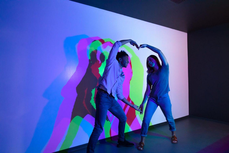 Museum of Illusions Orlando Color Room