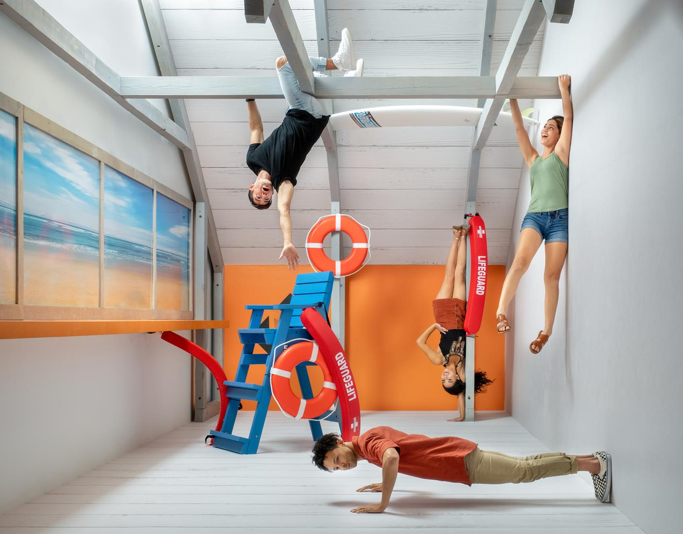Museum of Illusions Orlando Reversed Room Millennials