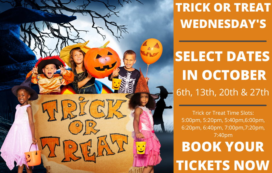 MUSEUM OF ILLUSIONS ORLANDO TRICK OR TREAT WEDNESDAY'S